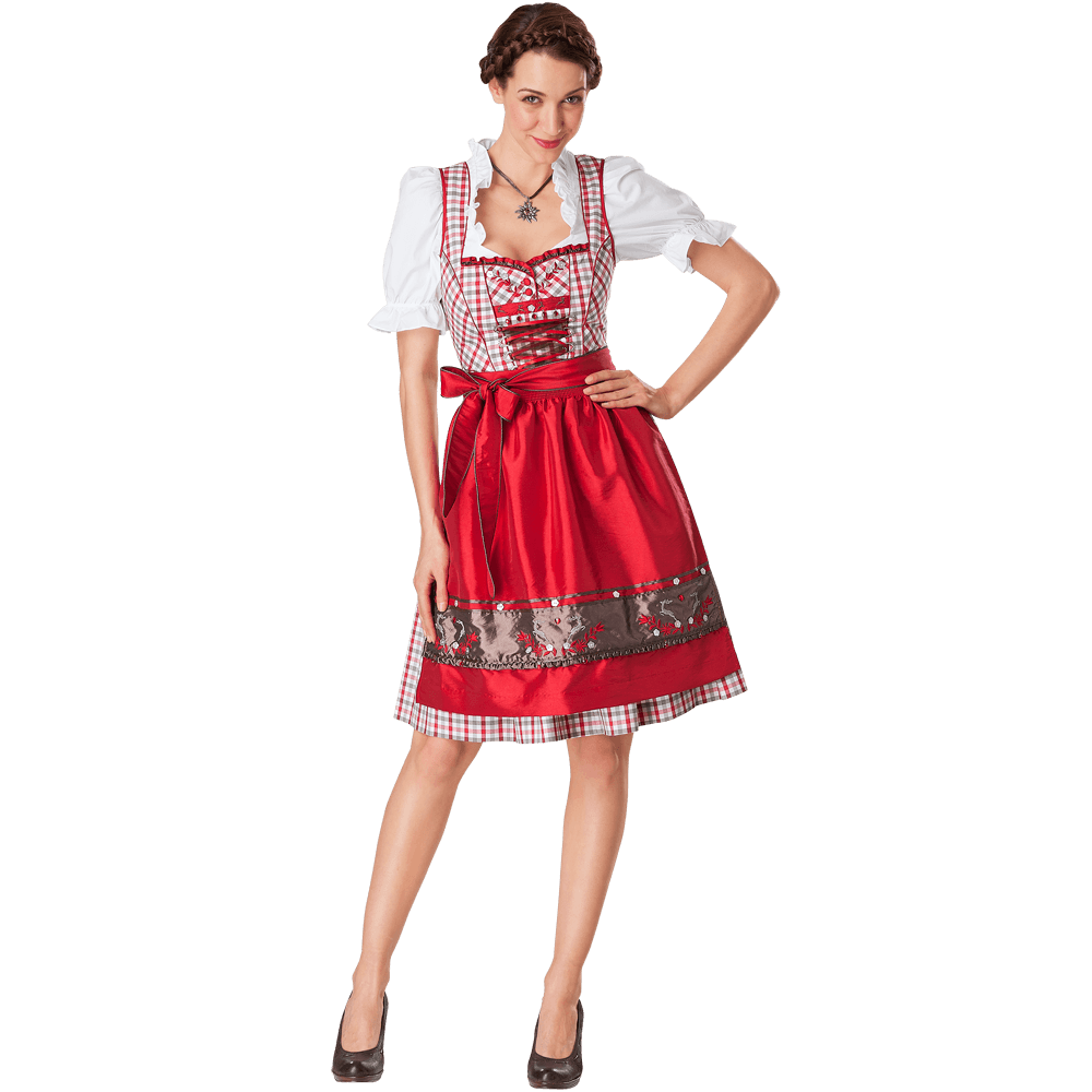 traumhaftes dirndl von spieth amp wensky mit sch rze bluse. Black Bedroom Furniture Sets. Home Design Ideas
