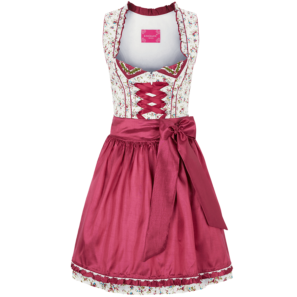 kr ger madl dirndl bright rose g nstig kaufen. Black Bedroom Furniture Sets. Home Design Ideas