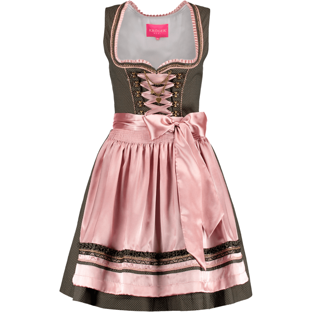 kr ger dirndl romance rosa gr n 50er g nstig kaufen. Black Bedroom Furniture Sets. Home Design Ideas