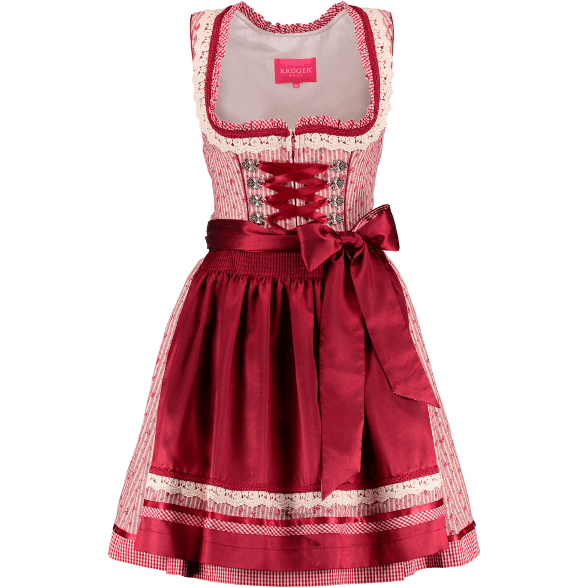 kr ger dirndl mini dirndl rosso g nstig kaufen. Black Bedroom Furniture Sets. Home Design Ideas