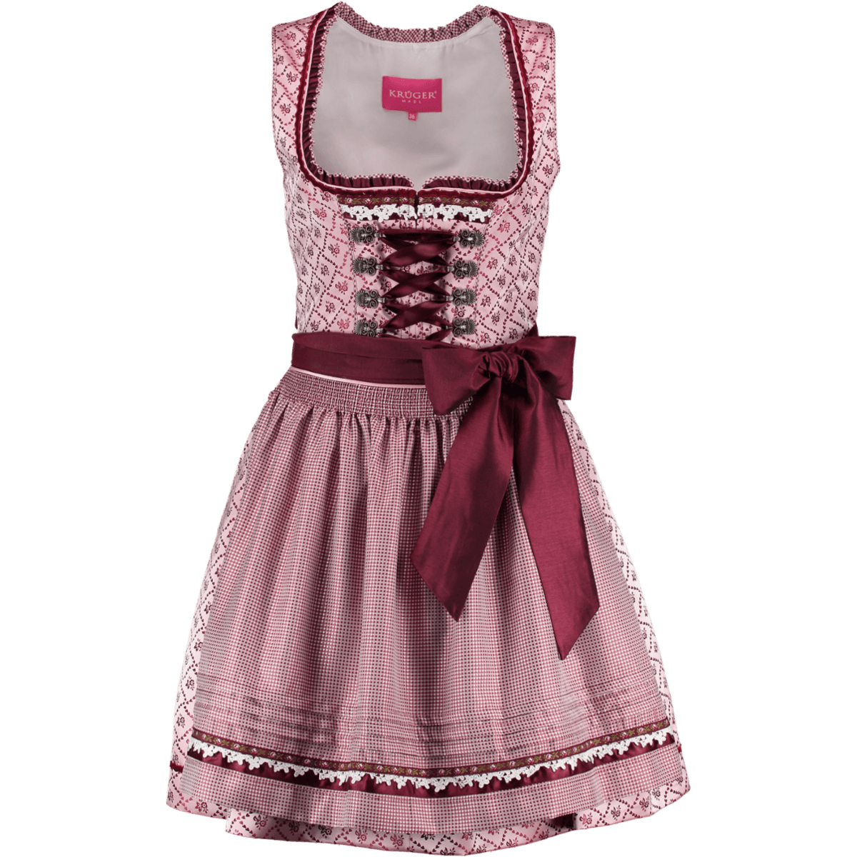 kr ger dirndl mini dirndl sandy rosa g nstig kaufen. Black Bedroom Furniture Sets. Home Design Ideas