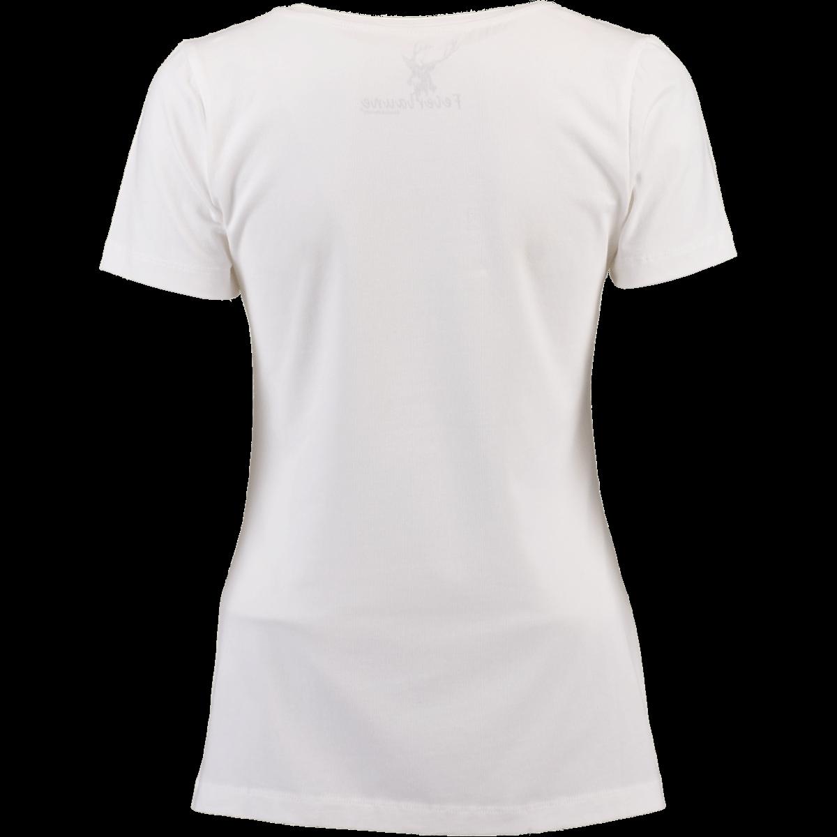 Spieth   Wensky Trachten-T-Shirt Heli weiß  braun   Alm-Fashion 7b29f2c178