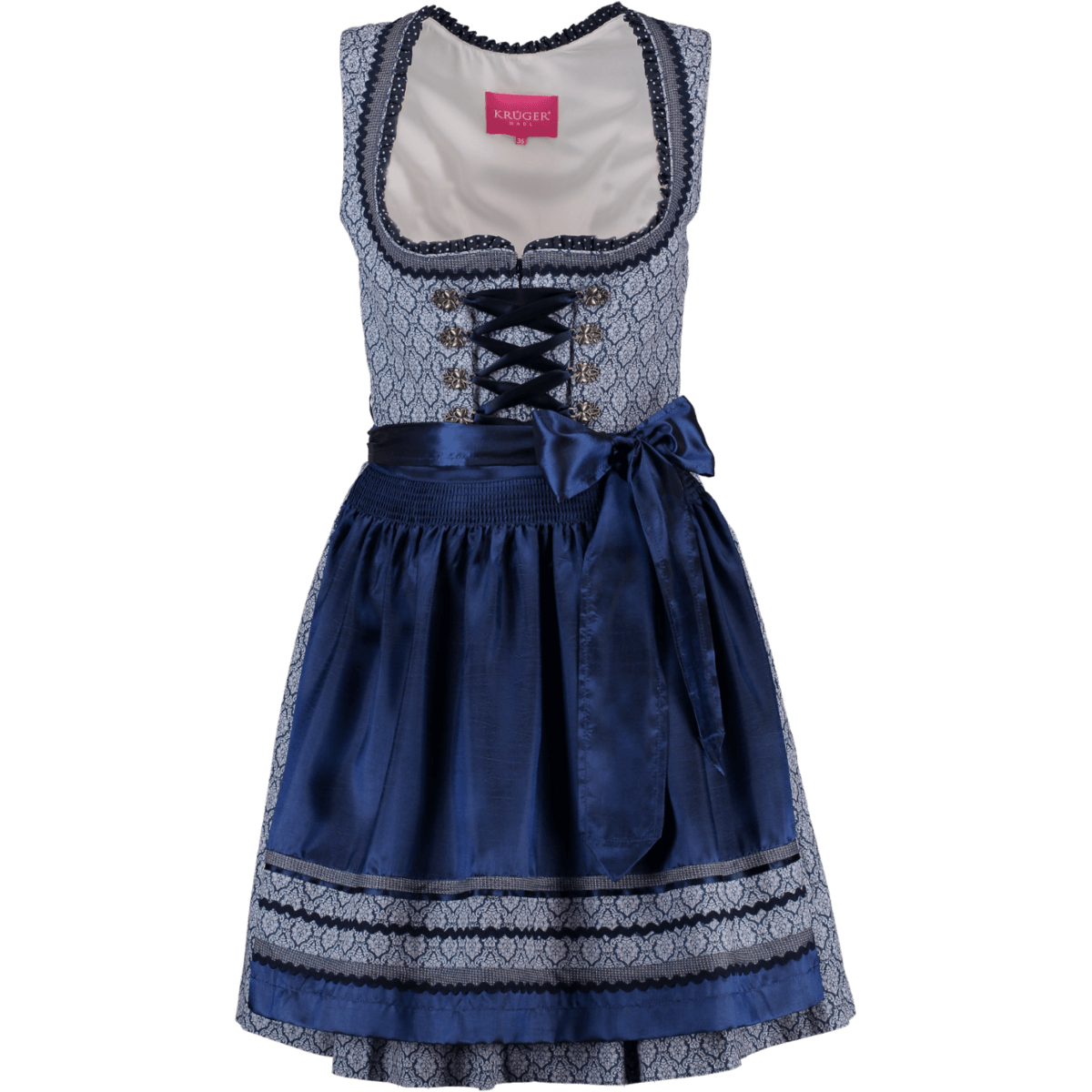 6edd18bb18e4 Krüger Dirndl Mini Dirndl Zea blau   Alm-Fashion