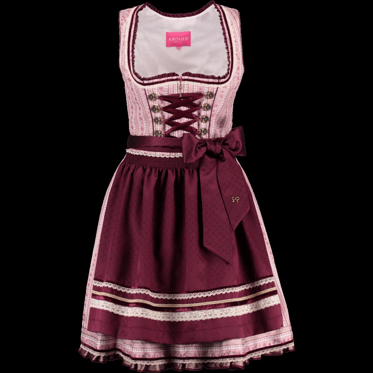 33fb88677b4a Krüger Dirndl Mini Dirndl Rosabella   Alm-Fashion