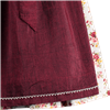 Spieth & Wensky Mini Dirndl HOney weiß/ rot/ bordeaux, 4