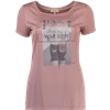 Krüger Dirndl Trachten-T-Shirt It is all wiesen rosa