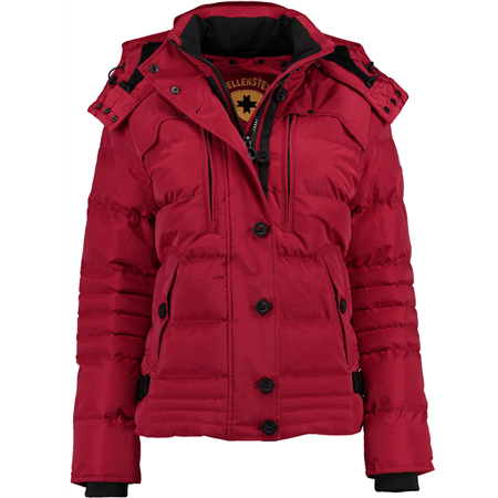 WELLENSTEYN Stardust-Lady-Jacke darkred