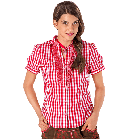 Kr�ger Madl: RED GOODY Bluse