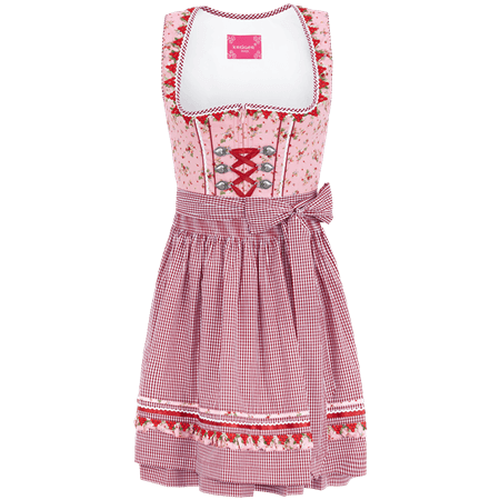 Krüger Madl: Dirndl PINK STRAWBERRY