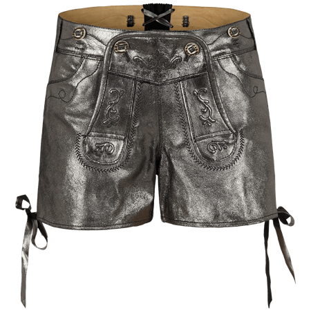 Krüger Madl: Lederhose WORLD CUP METALLIC