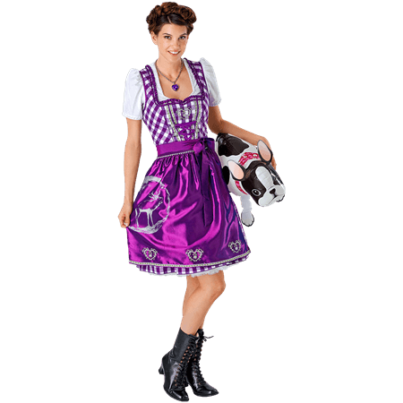 Outfit Suse Dirndl lila