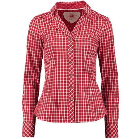 Spieth & Wensky Bluse Deb�t rot