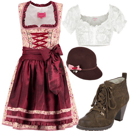 Dirndloutfit Blossom