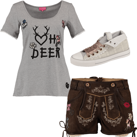 Trachtenoutfit Oh Deer
