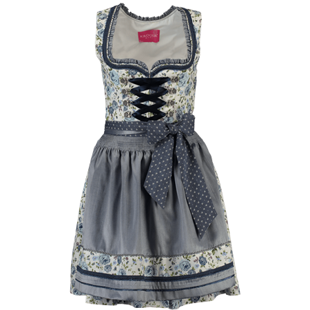 Krüger Dirndl Mini Dirndl Flower Blues
