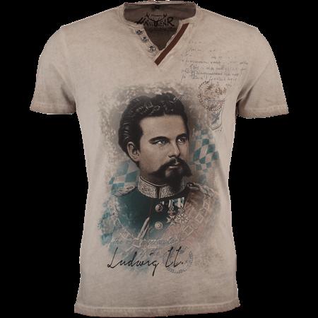d5eaacd4312fb7 HangOwear Herren Trachten-T-Shirt Almont beige