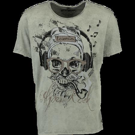 85e45825ac25d9 HangOWear Trachten-T-Shirt Finn grau
